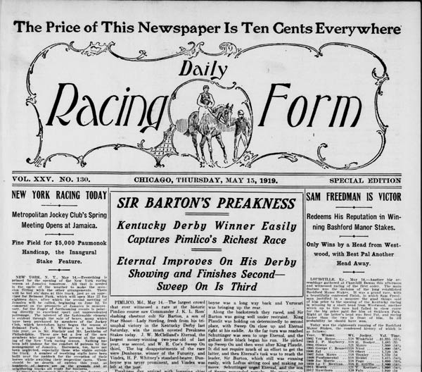 How To Find And Read Horse Racing Results