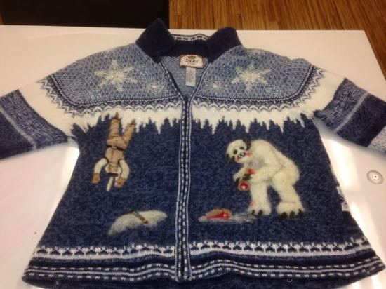 ugly christmas sweater 1