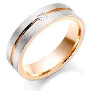 18k Yellow Gold Wedding Band 39 Spectacular mens wedding bands