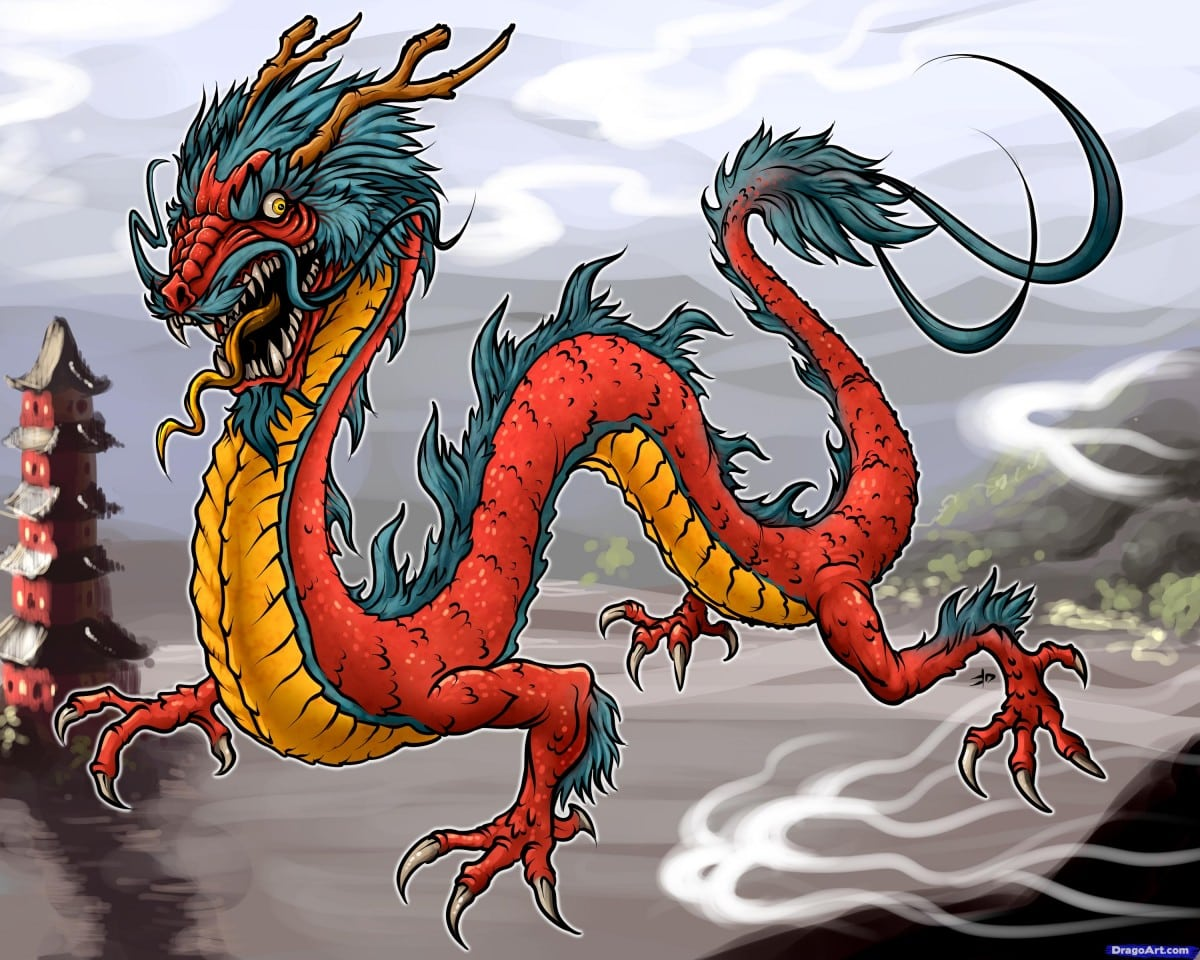 Powerful symbols and meanings of celtic viking and japanese culture japanese dragons buycottarizona Choice Image