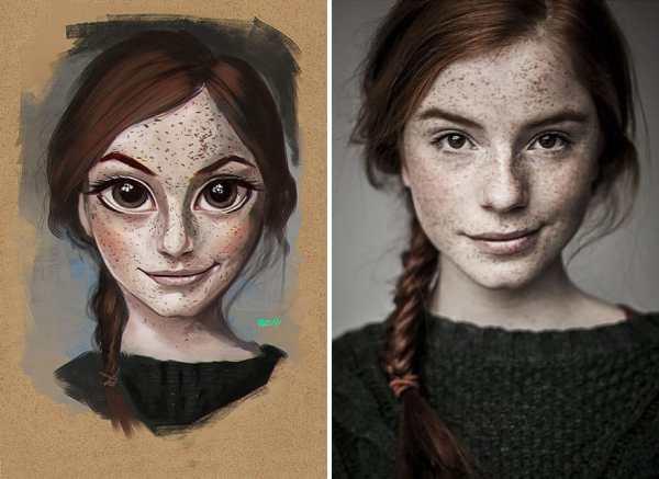 Random Portraits Turned In Illustrations