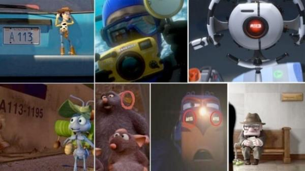 The A113 is one of the top 12 Pixar easter eggs.