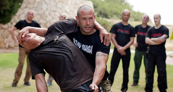 5 top brutal effective martial arts - Krav Maga, demonstrated in this photo.
