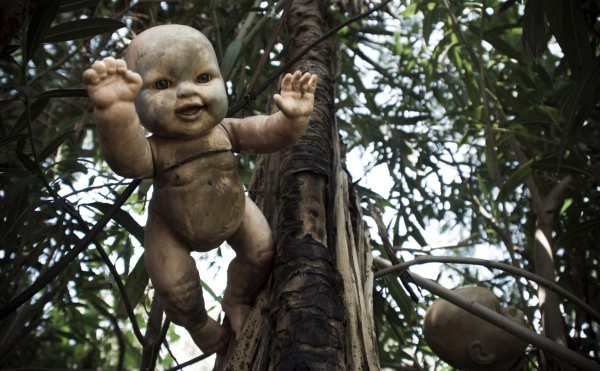The list of 7 places on earth that will give you shivers includes The Island of Dolls.