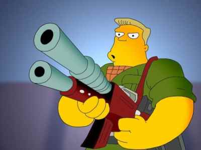 McBain is a special character in The Simpsons series.