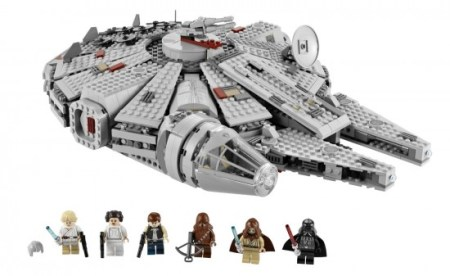 LEGO also created a bunch of toys for the Star Wars franchise.