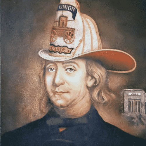 One of the lesser known facts about Franklin is that he was involved in a Fire Department.