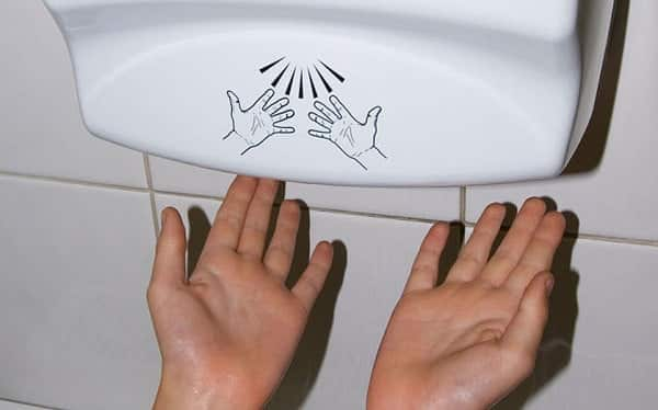 Hand Dryers Surprisingly Have One Of The Side Effects To Modern Inventions