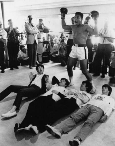Rare historical photos of Muhammad Ali and The Beatles