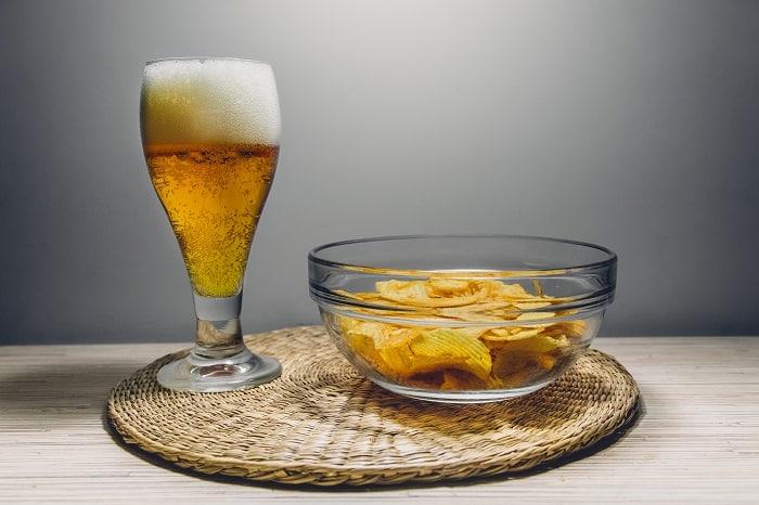 eating before drink