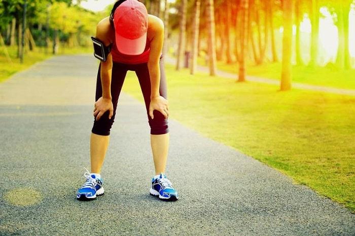 breathing while exercising