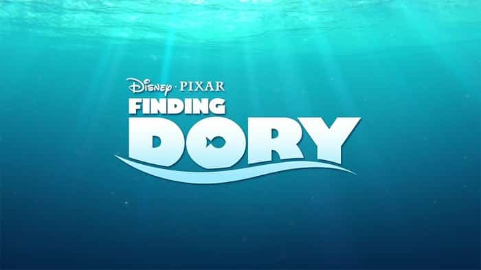 movie poster for finding dory