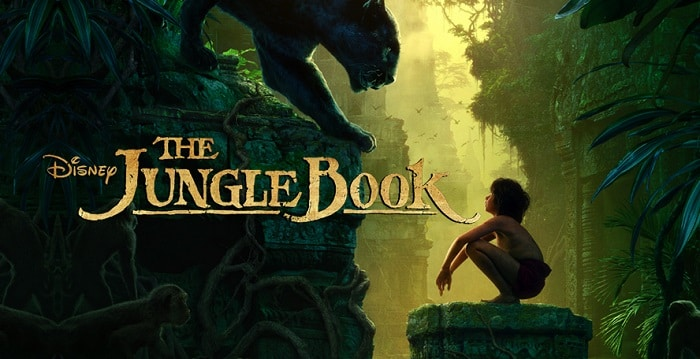 jungle book the movie poster
