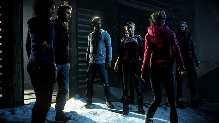 screenshot of until dawn