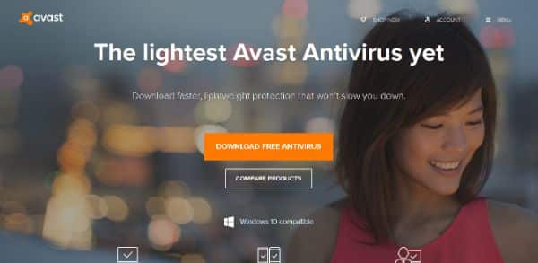 Top Ten Antivirus List Start