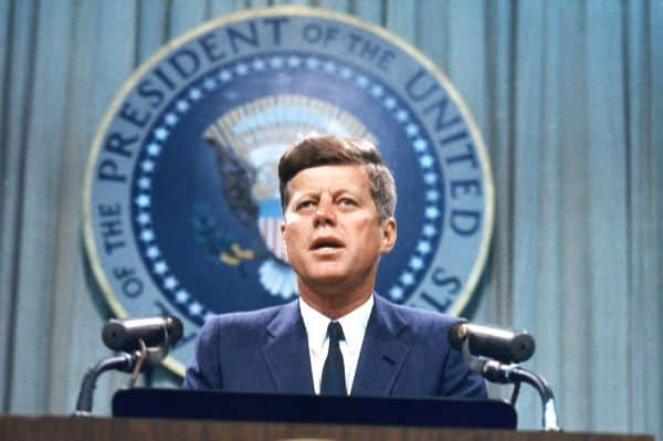 John F. Kennedy Tops The Presidents Ranked List