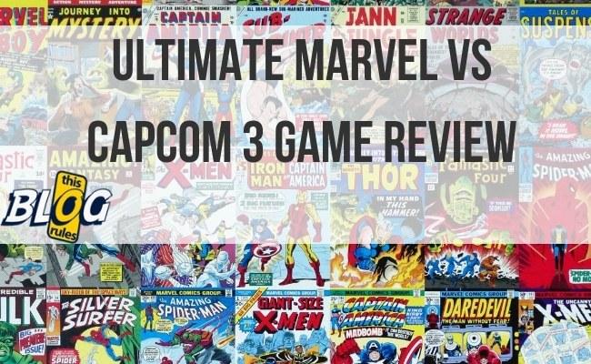 Ultimate Marvel vs Capcom 3 Game Review