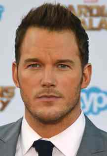 award winning actor Chris Pratt walk in red carpet in his movie