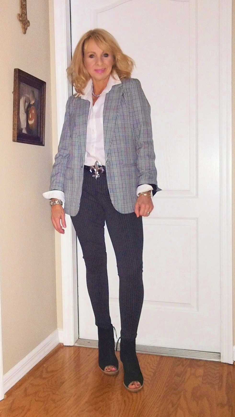 #plaidblazer
