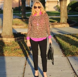 #leopard sweater