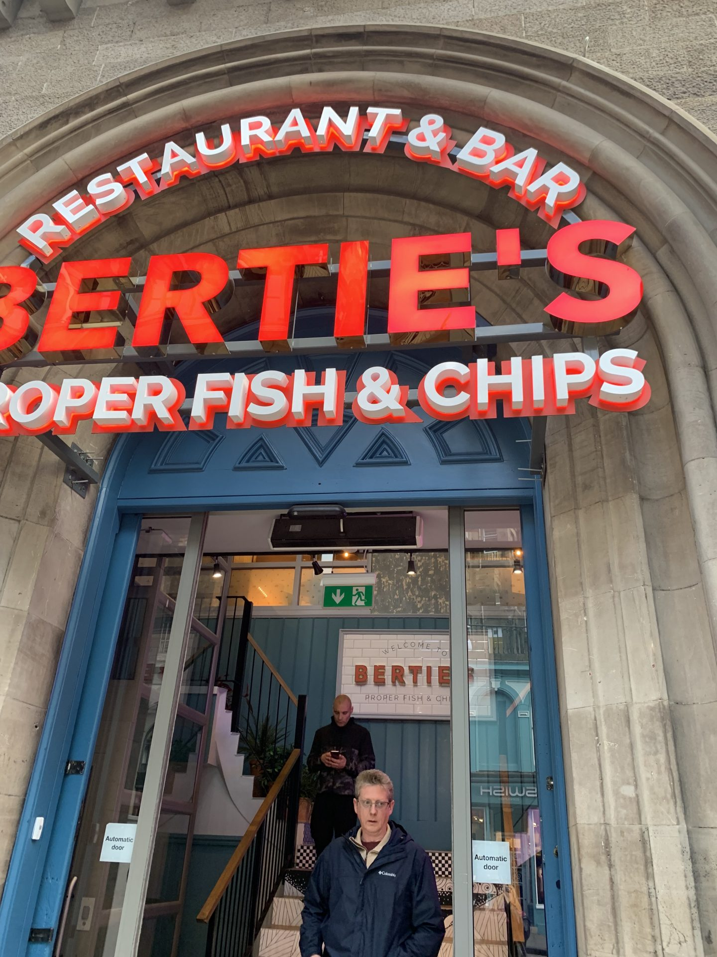 Berties Proper Fish n Chips