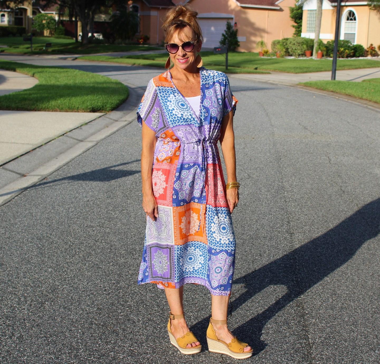 Walmart Patchwork Dress