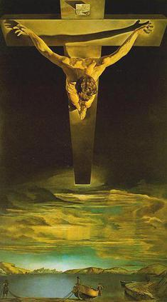 Salvador Dali: Christ of St John of the Cross