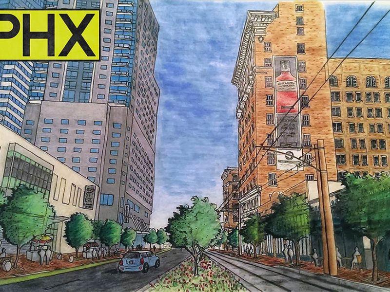 Luhrs Streetscape