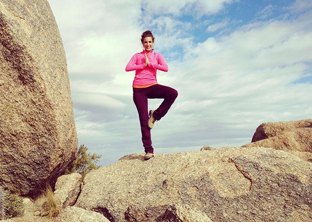 Quinn hiking