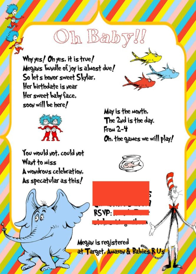Dr Suess Baby Shower This Crafty Mom