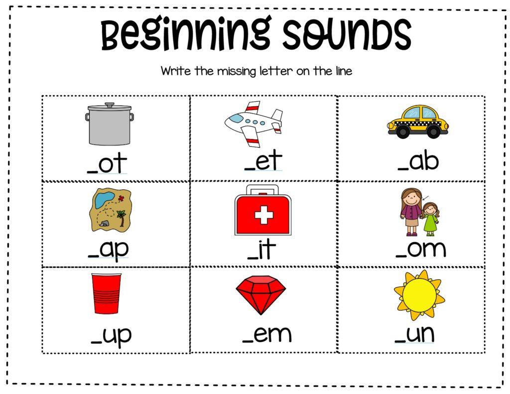 Teaching Blending And Segmenting
