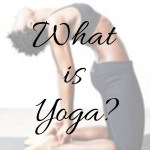 So….What is Yoga?