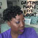 How to: Daytime Purple Eye Look