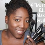 """4 """"Must-Have"""" E.L.F. Makeup Brushes!"""