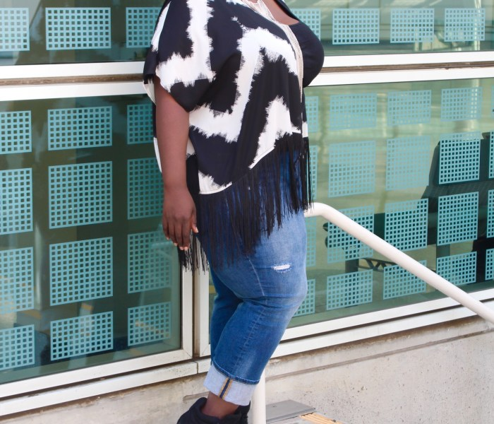 How Curvy Girls rock the Fringe Trend!