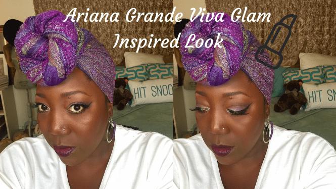 Ariana Grande, Viva Glam, MAC Cosmetics, Lipstick, Matte Lipstick, Plum Lipstick, Makeup, Makeup for Dark skin, Beauty Blogger, Inspired Look,