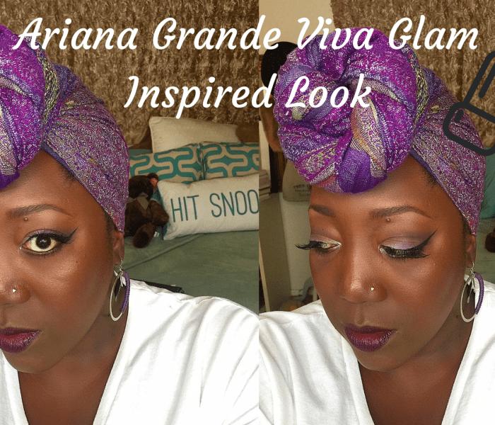 Ariana Grande Viva Glam Inspired Look!