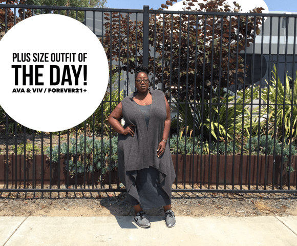 Sporty Chic Plus Size Look!