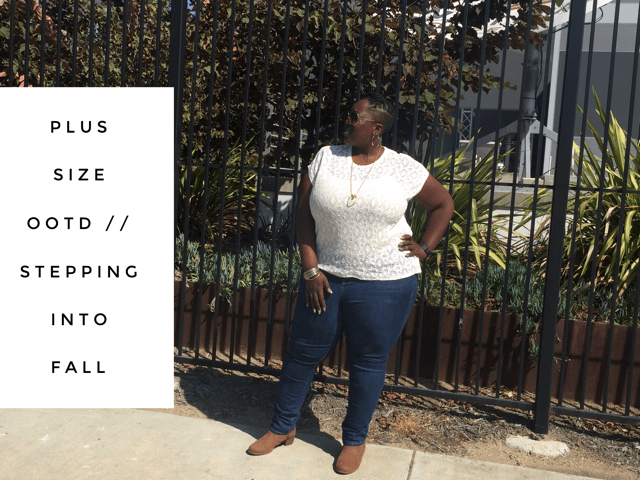 Plus Size OOTD // Stepping into Fall