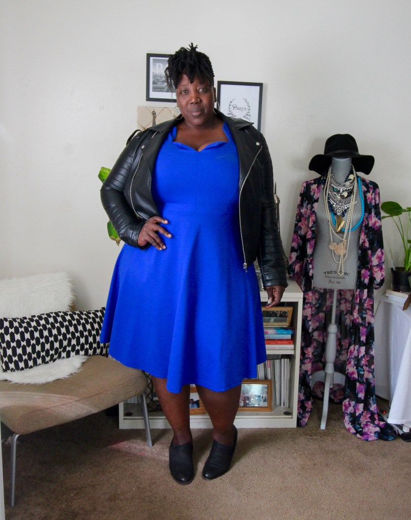 Fit and Flare, Dress, Plus Size Dress, Plus Size Fashion, Eloquii, Spring Fashion, One Dress Three Ways, Jana'e Michelle, This Curvy Girls Life, Plus Size Fashion Blog, Fashion Blog