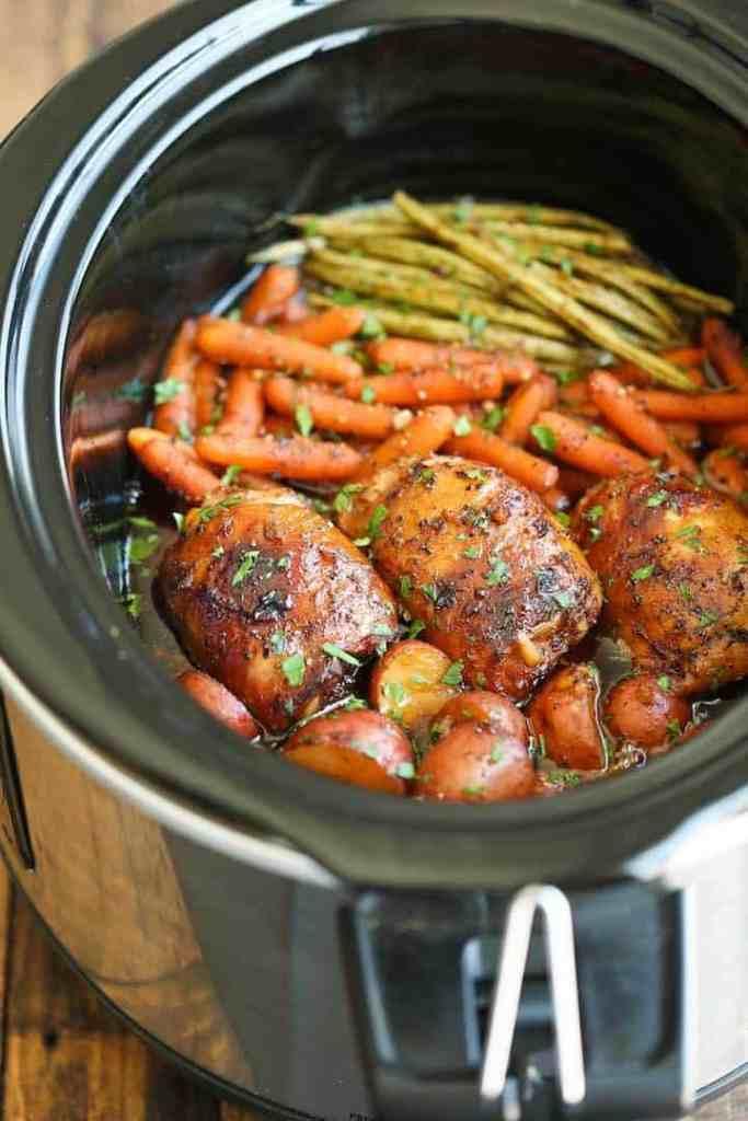 Aldi Meal Plan Slow Cooker Honey Garlic Chicken