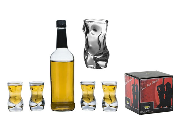 40th Birthday Gifts For Him Sexy Shot Glass