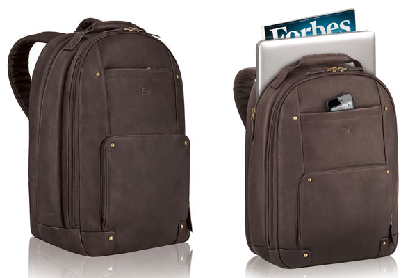leather gifts for men backpack