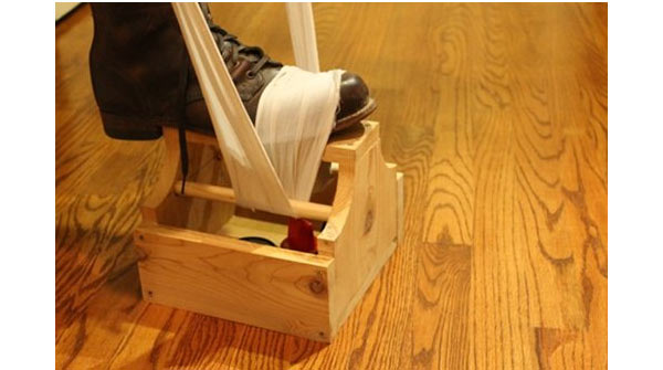shoe shine box diy gifts for him