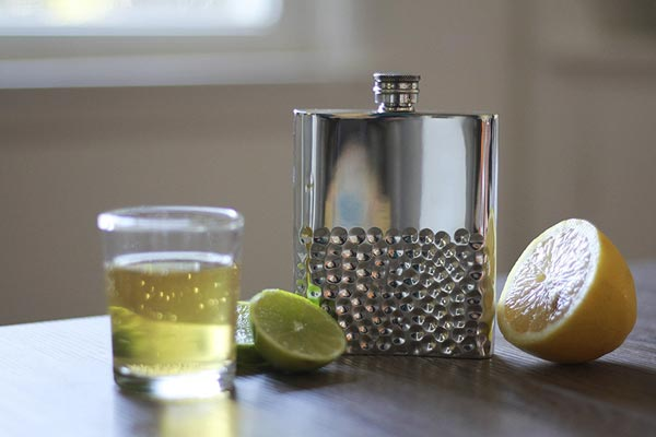small gifts ideas for men handmade flask