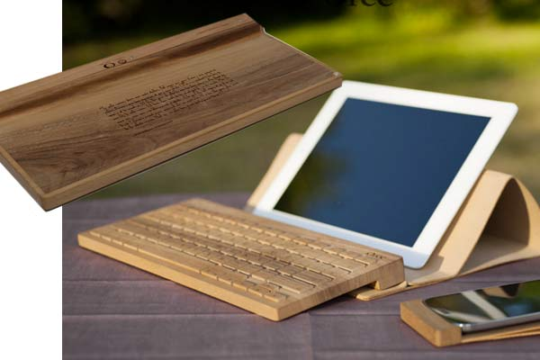 Wooden Keyboard Gifts For Men
