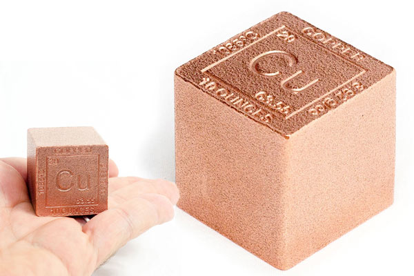 copper gifts for him paperweight