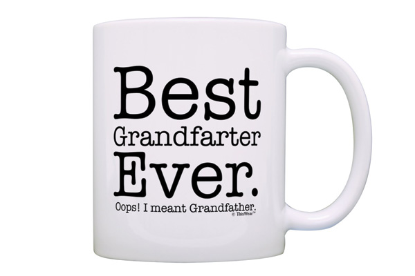 funny christmas gifts for grandfather