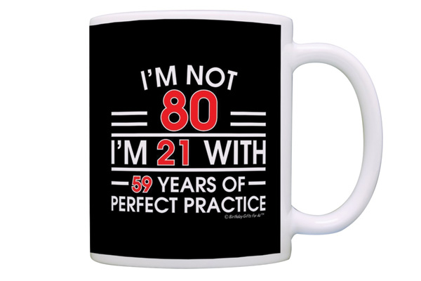 witty grandpa gifts for his 80 years old birthday