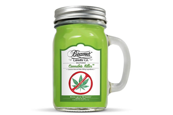 gifts for stoners candle